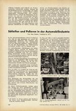 Schleifen und Polieren in der Automobilindustrie