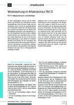 Verantwortung im Arbeitsschutz (Teil 3)