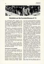 Rückblick auf die Kunststoffmesse K'75