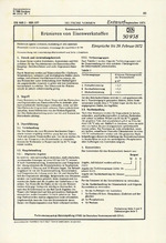 DIN-Entwurf 50 938 / DIN-Entwurf 50 971 / DIN-Entwurf 50 973