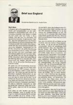 Brief aus England 03/2001