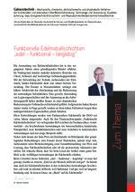 "Funktionelle Edelmetallschichten ""edel – funktional – langlebig"""
