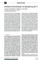 Versilberte Schmutzfänger mit Signalwirkung (Teil 1)