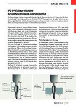 IPC-9797: Neue Richtline für hochzuverlässige Einpresstechnik