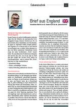 Brief aus England 05/2017