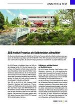 SGS Institut Fresenius als Kalibrierlabor akkreditiert