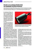 Schnelle und zuverlässige Sichtkontrolle von Leiterplatten mit pictor-N-Kameras