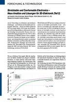 Stretchable und Conformable Electronics – Neue Ansätze und Lösungen für 3D-Elektronik (Teil 2)