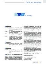 DVS-Mitteilungen 07/2020