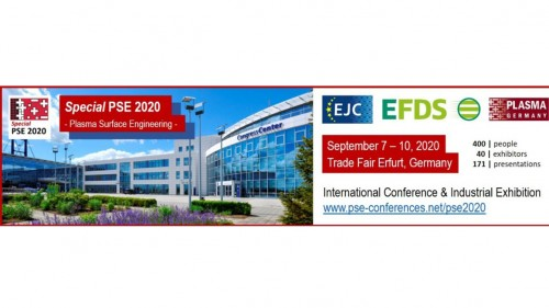 "17th International Conference for Plasma Surface Engineering – ""Special PSE 2020"""